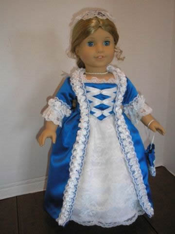 American Girl Colonial Gown