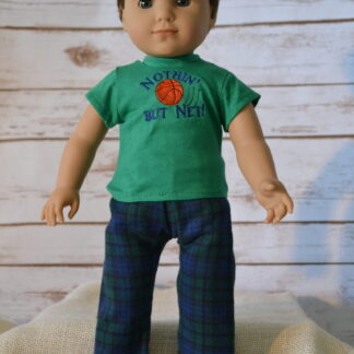 Basketball Tee PJ Set