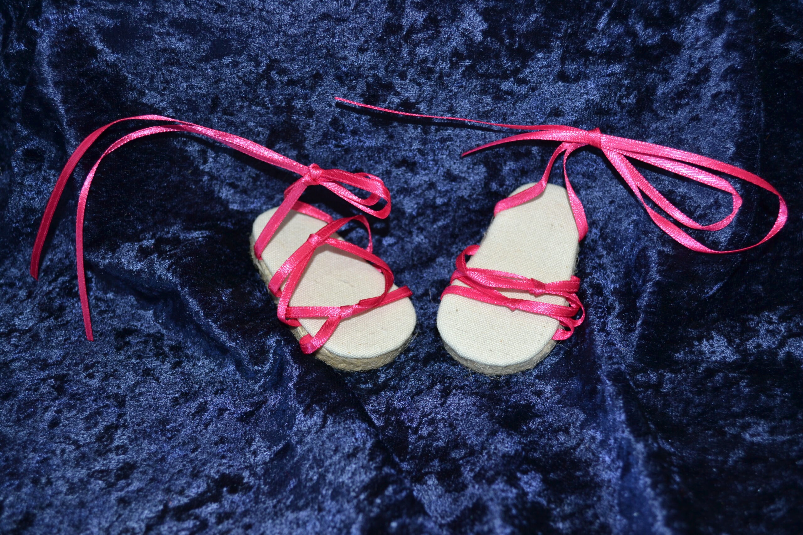 Sandals for Striped Top-Skirt